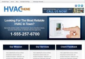 AC Repair Website Design