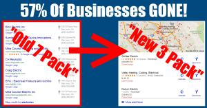 RGV SEO Google 3 Pack Maps